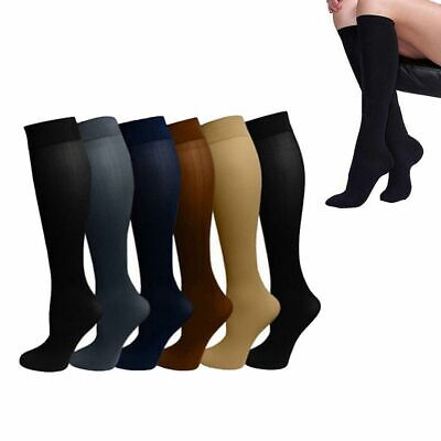 Unisex Compression Miracle Socks Anti Fatigue Varicose Vein DVT Comfort Stocking