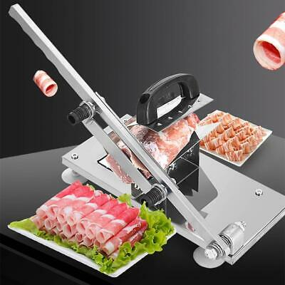 Manual Frozen Meat Slicer for Home Use Prime Stainless Steel Beef Sheet Roll
