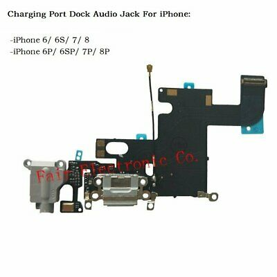 For Apple iPhone 6 6S 7 Plus Charging Dock Port Connector Audio Jack Flex Cable