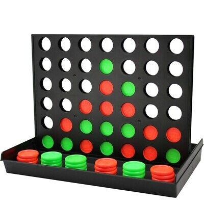 4 in a Row Game,Line Up 4, Connect 4,Classic Family Toy, Board Game for Kid D2D8