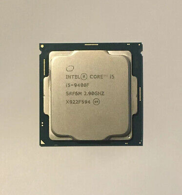 Intel Core i5 9400F SRF6M 2.90GHz 9M Cache 6-Core CPU Processor