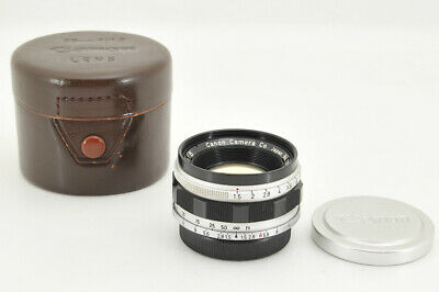 *EXC+++* Canon 35mm f/1.5 Lens E.P Marked for Leica L39 LTM from Japan #3709
