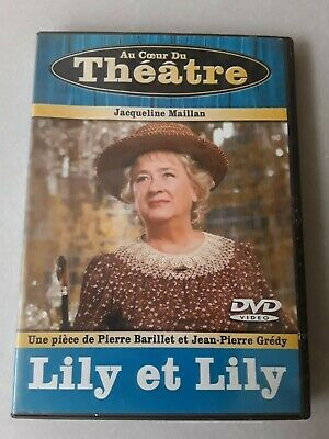 LILY et LILY * Barillet * Maillan * Varco * Jouanneau * THEATRE * DVD Comme neuf