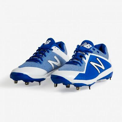 New Balance Men's Pedroia Low Cut Royal Metal Baseball Cleats Shoes Size 10 NEW