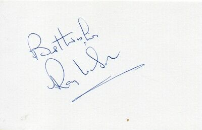 Ray Wilson Autograph - World Cup 1966 - Signed 6x4 Card - Handsigned - AFTAL