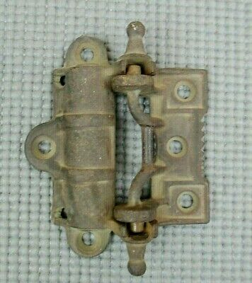 Antique Vintage Cast Iron Door Hinge - 2-Piece for Stove, Gate, Ice Box, etc.