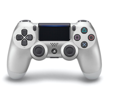 Sony PS4 DualShock 4 Version 2 Wireless Controller - Shiny Silver Free/Fast Post