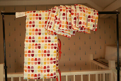 Mamas&Papas Cot Bumpers Orange