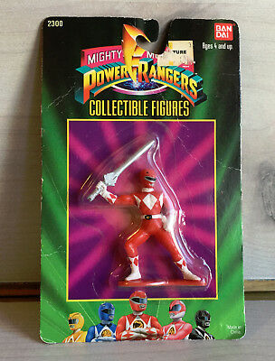 Vintage Mighty Morphin Power Rangers Red Jason Collectible Figure MOC 2300
