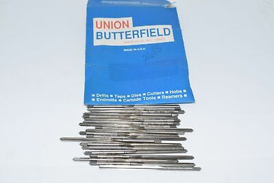 Lot of 20 NEW Union Butterfield 1/8'' 10/92 Reamers