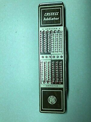A.W. Faber Castell 63/87R System Rietz Addiator Slide Rule