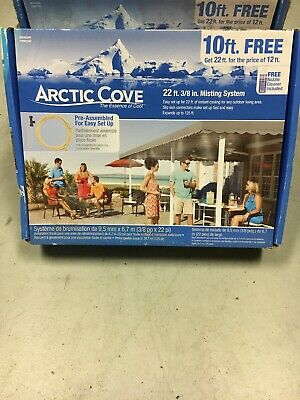 """NEW ARCTIC COVE 3//8/"""" INCH IN-LINE MISTING SYSTEM FILTER MACF009"""