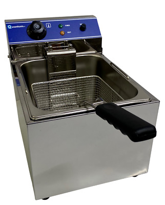 13 Litre Single Tank Electric Chip Chips Fryer Table Top Large Capacity