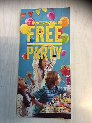 Gift voucher Timezone party