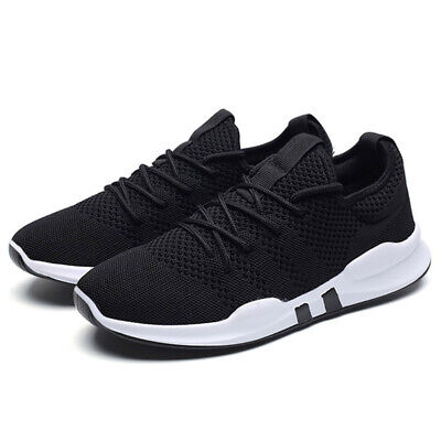 Mens Womens Trainers Running Mesh Sports Sneakers Breathable Gym Athletic Shoes