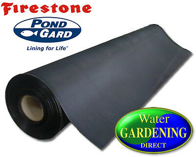 Pond Liner Firestone EPDM Rubber Pond Liners (Many sizes available)