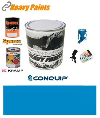 Conquip Skip Blue Paint High Endurance Enamel Paint 1 Litre Tin