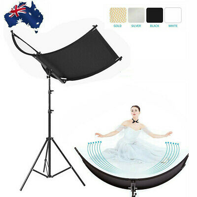 Photography Light Reflector and Diffusers 4 in 1 Curved Reflectors With Case
