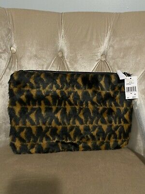MICHAEL KORS LEOPARD Print Haircalf Wristlet iPhone 5 5s ID