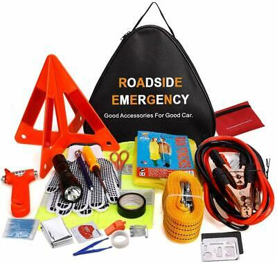 Car Emergency Kit, 76 in 1 Multifunctional Roadside Assistance Car Breakdown Too