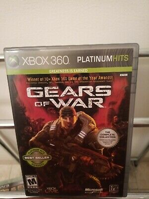 Gears of War -- Two-Disc Edition (Microsoft Xbox 360, 2008)