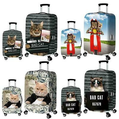 """Protector Cover Case For 19-32"""" Luggage Suitcase Elastic Stretch Printed Y7 X4F6"""