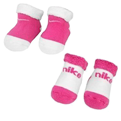 New Baby Girls Nike Baby Bootie Gift Set Two Tones Infants Socks