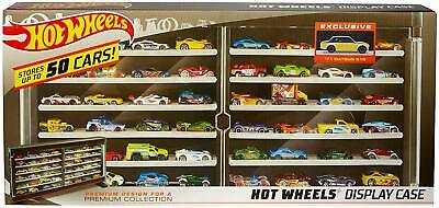 Hot Wheels Premium Collector Case with 71 Datson 510 50-Vehicle Display CHOP