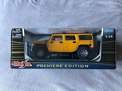 Hummer H2 Diecast Model Car/SUV