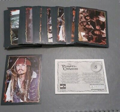 PANINI PIRATES OF THE CARIBBEAN OST PICK 10 STICKERS FROM LIST MINT