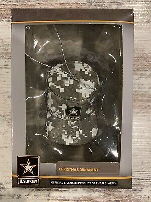 US Army Camouflaged Hat Christmas Tree Ornament (NEW) Kurt Adler