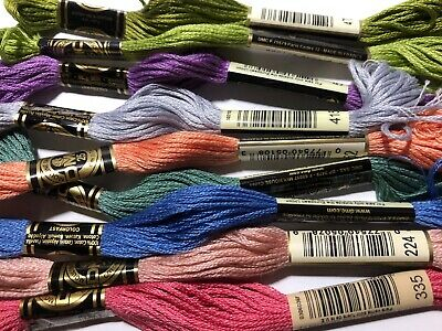 DMC Floss -10 skeins/$6.00 FREE domestic shipping. U pick the colors #913 - 3866