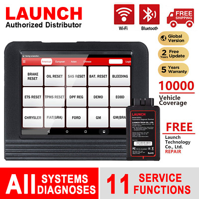 2019 Version LAUNCH X431 V Pro ScanPad Diagnostic Tool All System Active Test