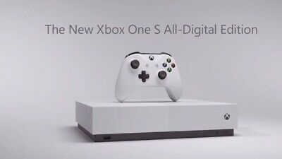 Xbox One S 1TB All-Digital Edition Console with 3 Games  - Canadian seller -