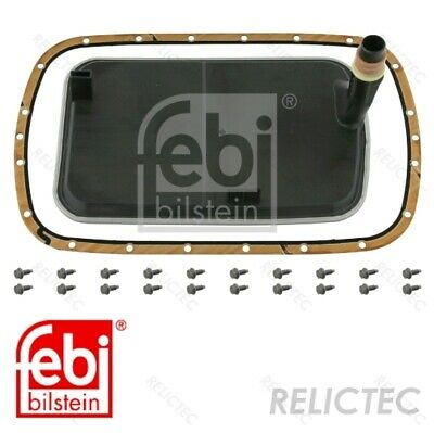 Febi Transmission Oil Filter Set For Automatic Transmission With Oring And 11675