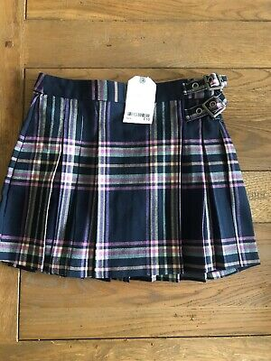 Girls Next Tartan Skirt Available Sizes Age 5 Years - (New)