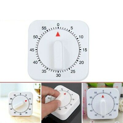 Novelty Kitchen Timer 60 Minutes Cooking Mechanical Countdown Alarm #M2R