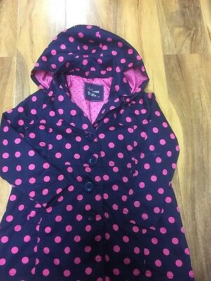 Millie Girls Light Coat With Detachable Hood Age 3 Years