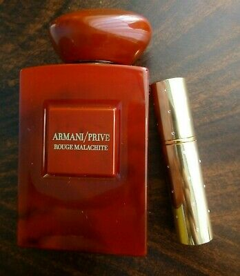 Armani Prive ROUGE MALACHITE decant to 5ml glasss spray bottle - UNISEX