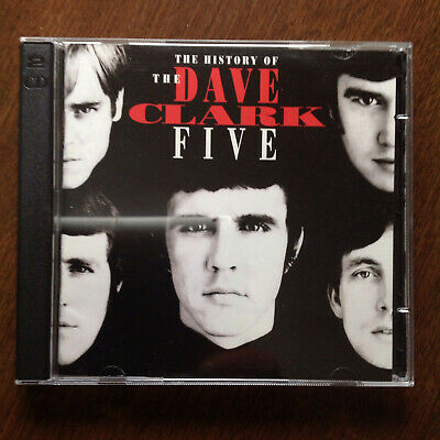 The History Of The Dave Clark Five Original 1993 Hollywood Records 2CD Near Mint