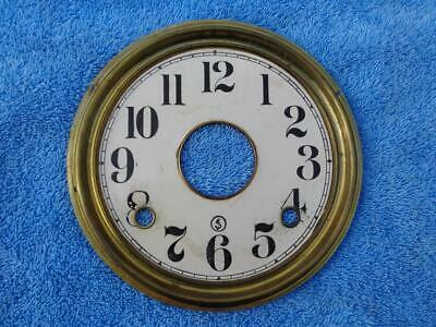 Brass Dial Pan Parlor Kitchen Shelf Mantle Clock Ingraham Gilbert Ansonia Welch