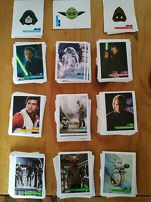 Images LECLERC Star Wars 2019 cartes stickers