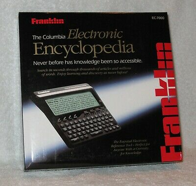 Franklin EC-7000 The Columbia Electronic Encyclopedia