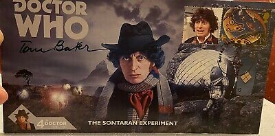 Dr Who Signed By Tom Baker First day Cover Limited Edition 147 of 250