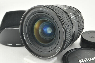 *Excellent* Nikon AF Nikkor 20-35mm f/2.8 D Lens w/ Hood from Japan #3885