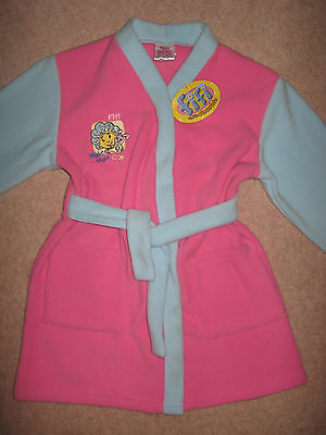 New Girls Fifi & The Flowertots Pink & Blue Dressing Gown Age 3 / 4 Years  Bnwt