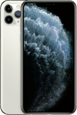 Apple iPhone 11 Pro Max 64GB Silver LTE Cellular Sprint MWG32LL/A