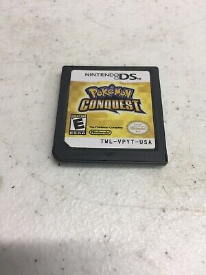 Pokemon Conquest Game Cartridge! Nintendo DS Genuine Free Shipping