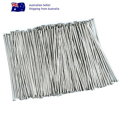 NO FADE 150 x 304 STAINLESS STEEL STRAIGHT Head Pins 30x0.6mm 22 Gauge