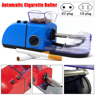 Electric Auto Cigarette Rolling Machine DIY Tobacco Roller Injector Maker Easy